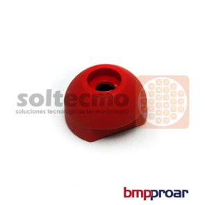 Botón Inyectado Rojo